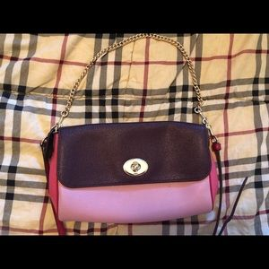 Coach purse- double tone